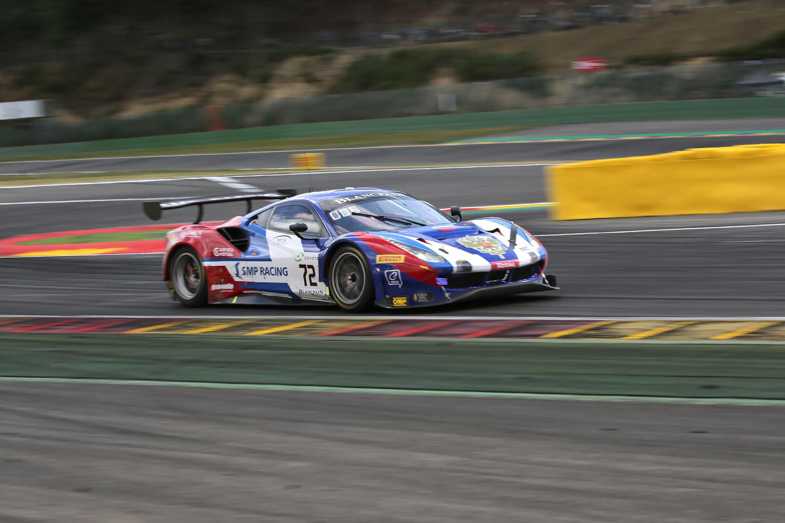 24 hours of Spa. SMP Racing