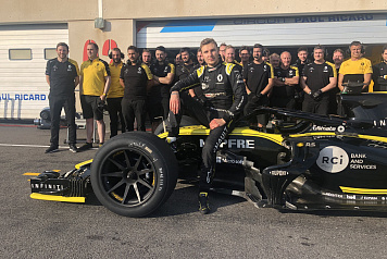 SMP Racing driver Sergey Sirotkin tested Formula 1 tyres for the 2021 rules