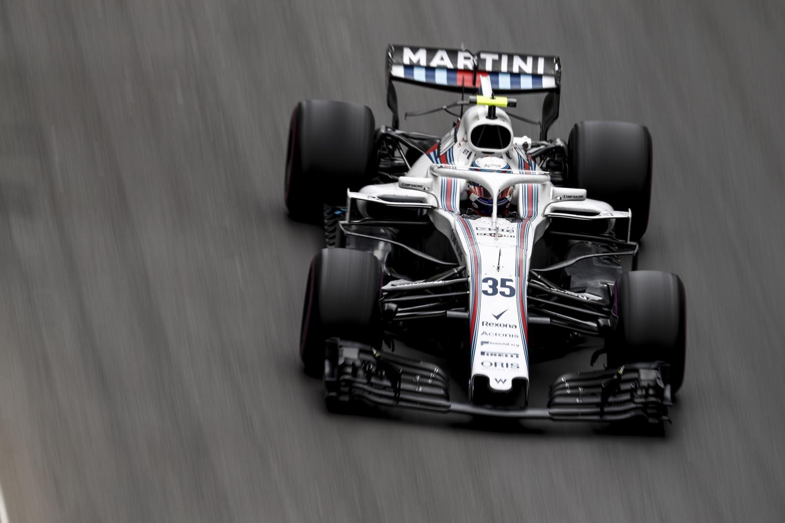 Sergey Sirotkin. SMP Racing & Williams Martini Racing. Formula 1. Azerbajan.
