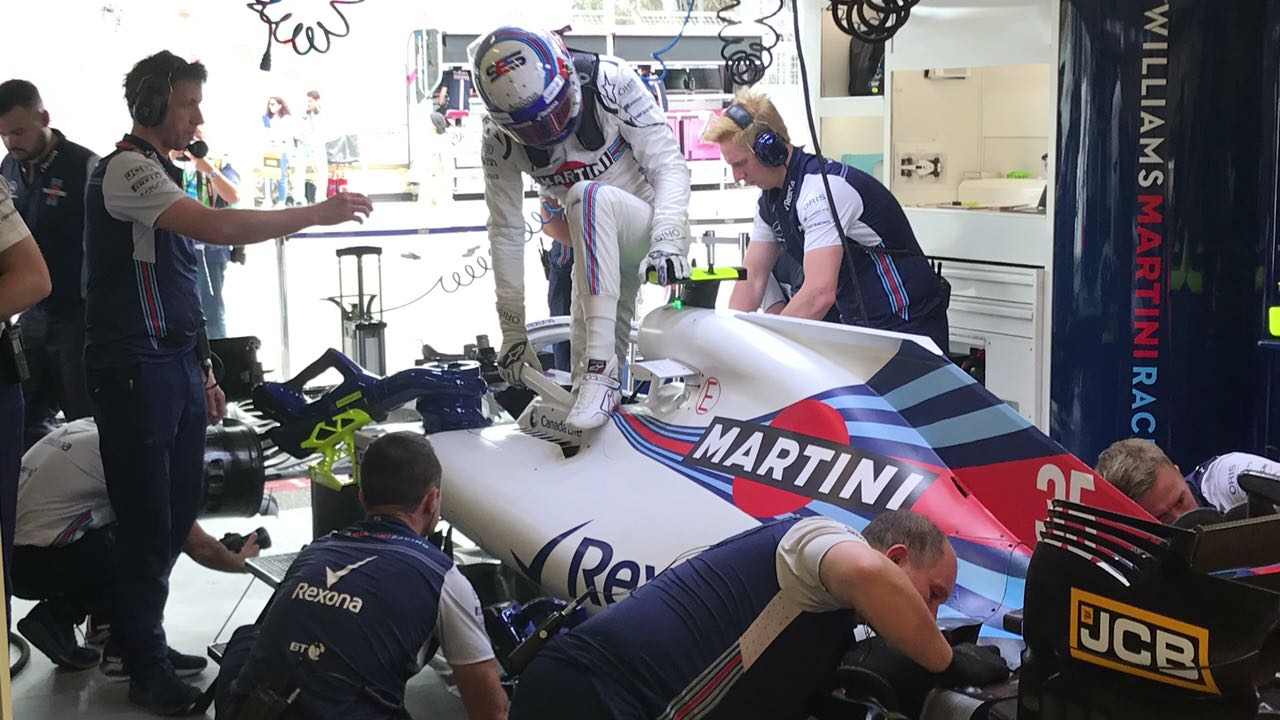Sergey Sirotkin. SMP Racing & Williams Martini Racing. Formula 1. Azerbajan.