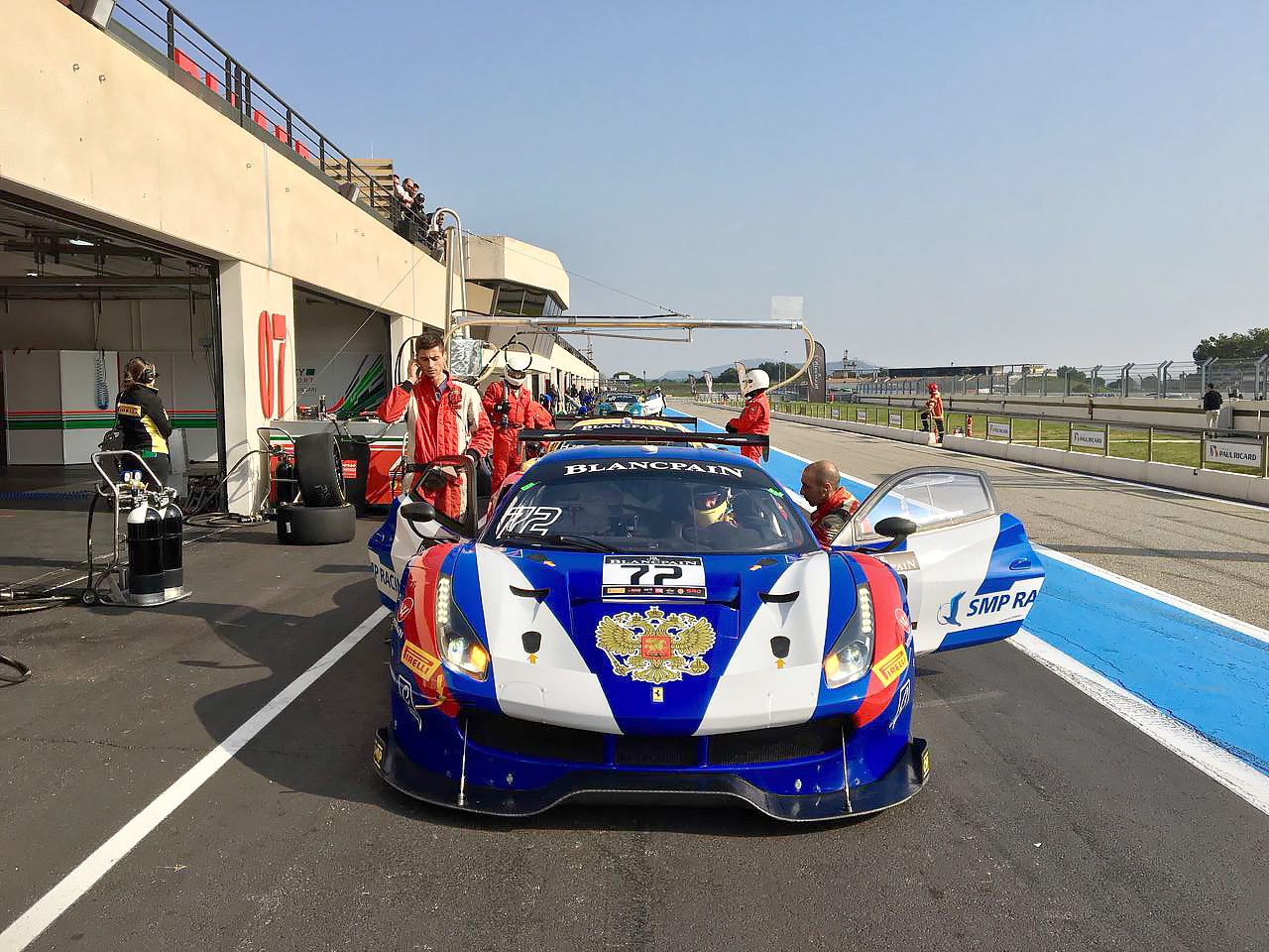 Blancpain GT Series / SMP Racing / Shaytar - Rigon - Molina / Paul Ricard Tests