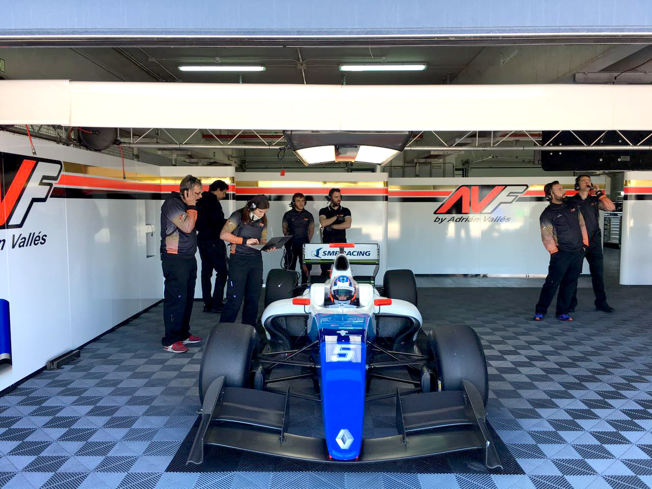 Егор Оруджев / SMP Racing / World Series FV8 3.5‏ / Tests