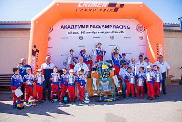 Matvey Dergunov is the winner of the 2019 RAF-SMP Racing Karting Academy season
