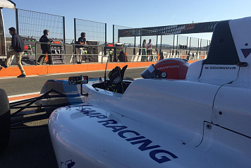 Irina Sidorkova took part in the fourth round the F4 Spanish Championship