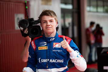 Robert Shwartzman is the new points leader in the Drivers' Championship of Formula 3