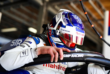 Sergey Sirotkin participated in Formula E car test in Morocco