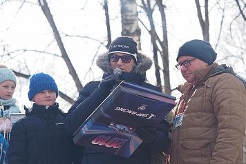 Mikhail Aleshin chose the best sled designers at the Battle Sled festival