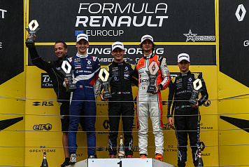 Alexander Smolyar eared the silver medal of the first Formula Renault Eurocup race in Hungary