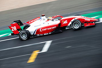 Fifth place for Robert Shwartzman in the first FIA Formula 3  race at Silverstone