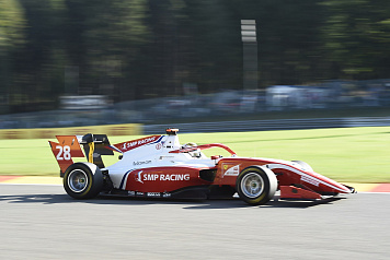Robert Shwartzman takes third-place podium in the second FIA Formula 3 race in Belgium
