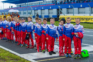 The new RAF-SMP Racing Academy leader in Ryazan