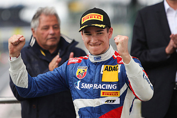SMP Racing junior driver Michael Belov takes his maiden podium in the ADAC Formula 4 Championship