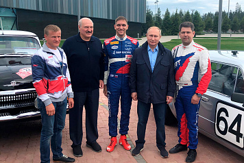 Vitaly Petrov spoke with Vladimir Putin and Alexander Lukashenko about the success of SMP Racing