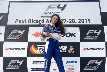 Irina Sidorkova became the best among women in F4 Spain's Paul Ricard