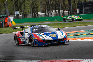 SMP Racing drivers Mikhail Aleshin and Denis Bulatov took part in the first round of the Blancpain GT Series Endurance Cup