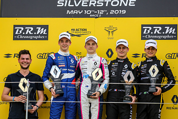 Second position in Race 2 at Silverstone for Alexander Smolyar