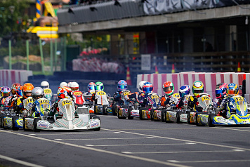 Kiril Smal finished fourth in the final round of the FIA ​​Karting World Championship