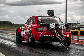 A new record of Russia for front-wheel-drive cars at the second round of the Russian Drag Racing Championship SMP RDRC