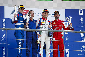 Robert Shwartzman mounts strong recovery to second in first FIA F3 race in Belgium
