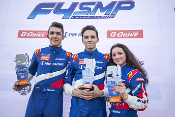 First podium for Irina Sidorkova in the SMP Formula 4 Championship
