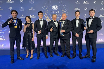 Russian team received awards from the International Automobile Federation