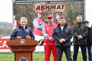Boris Rotenberg and Ramzan Kadyrov opened the new season of the SMP RCRS and Formula 4 in the Chechen Republic