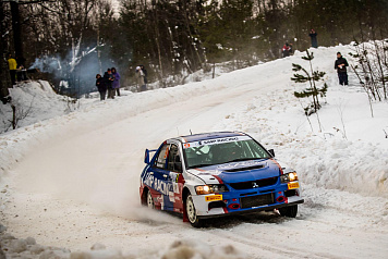 Ex-Formula 1 driver Vitaly Petrov was out of the rally Peno due to a car failure