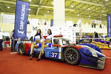 SMP Racing at the Motorsport Expo 2019 exhibition