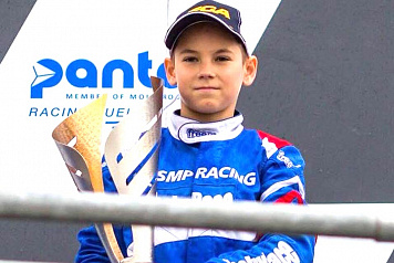 Nikita Bedrin is the winner of the first WSK Euro Series round