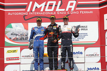 Two podiums for Michael Belov in the fifth round of the Italian Formula 4 Championship