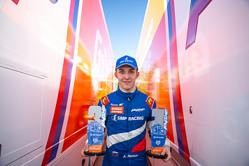 Nesov is the winner of the second round of SMP Formula 4 in Nizhny Novgorod