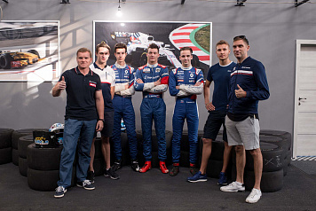 SMP Racing drivers took part in the charity SMP RCRS race